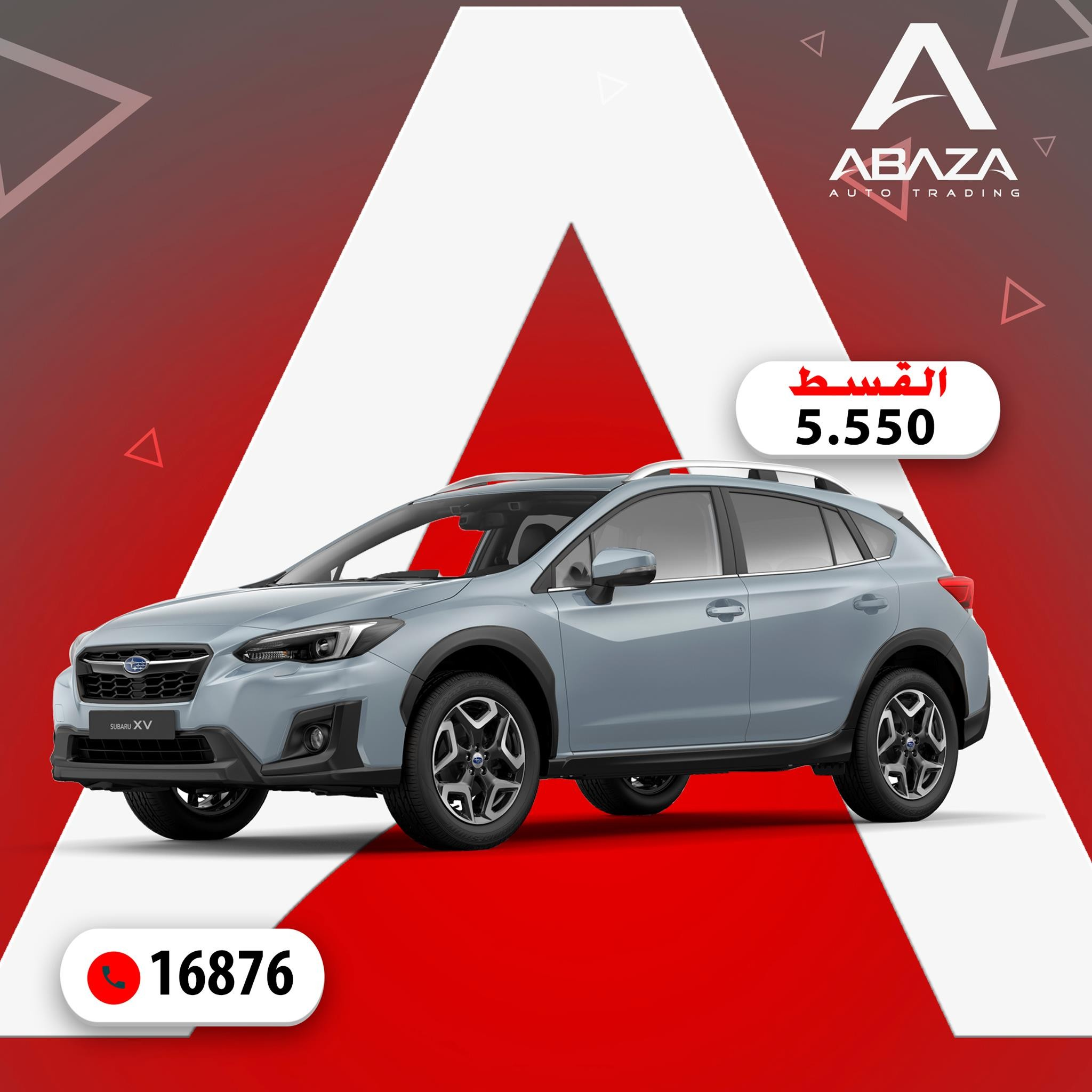 Buy Subaru xv with an installment Starting From 5.550